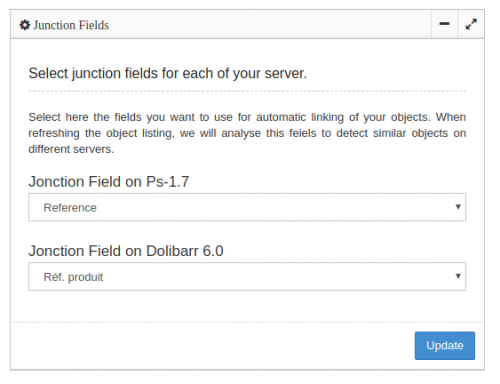 Select Junction Fields for your Objects Analyzer